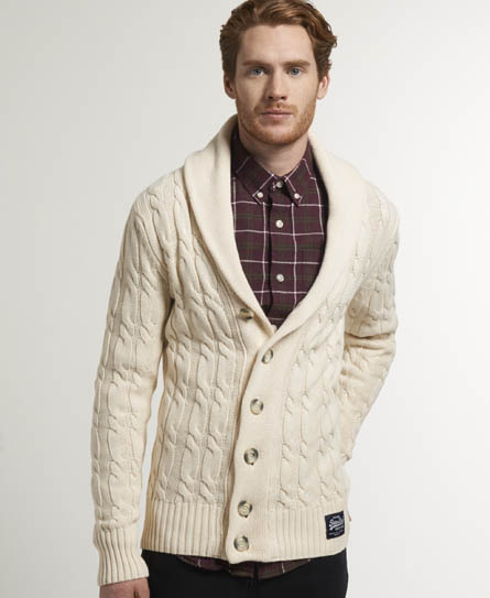 Superdry Jacob Shawl Cardigan - Mens Sale - View All