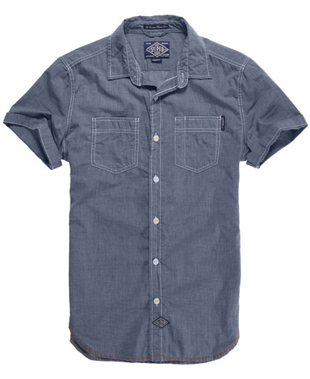 Superdry Riveter Shirt Blue