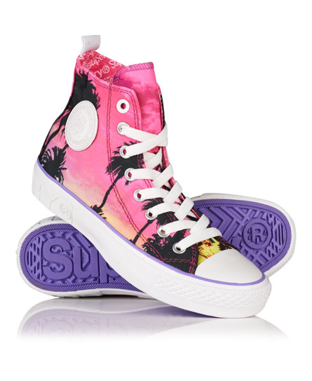 Superdry Ultra Brand High Top Trainers Multi