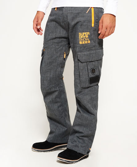 grey marl Superdry Snow Pants