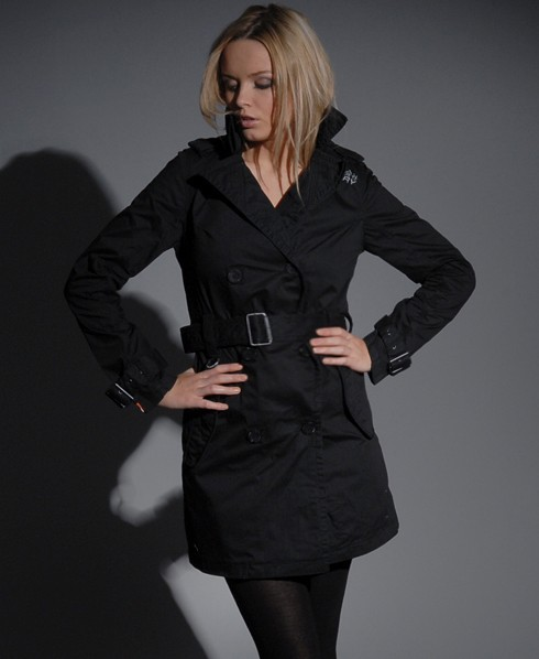 Womens - Saks Mac jacket in Black | Superdry