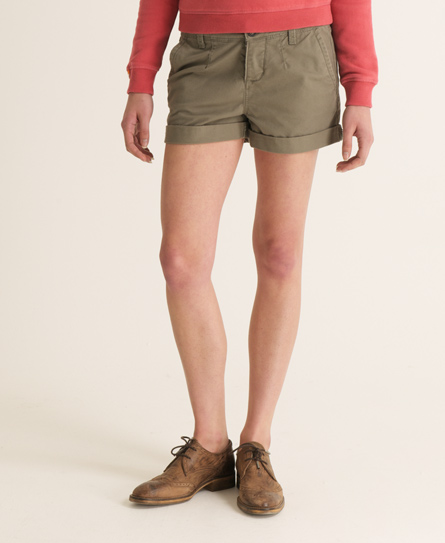 Superdry Commodity Chino Shorts Green