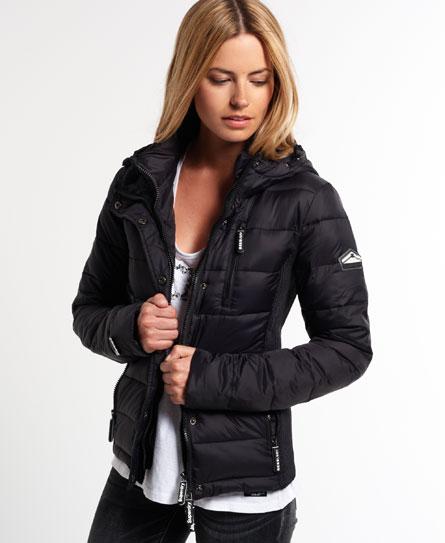 superdry fuji hooded slim jacket women 39 s jackets coats. Black Bedroom Furniture Sets. Home Design Ideas