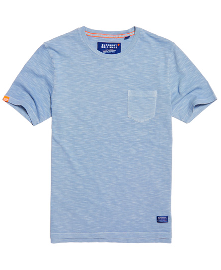 dry goose grey Superdry Originals Pocket T-shirt