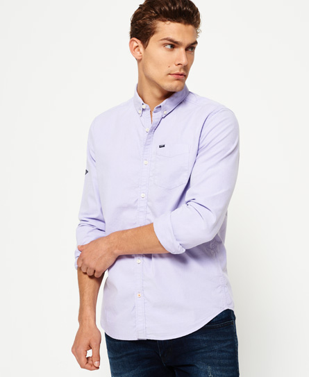 lilac Superdry Ultimate Oxford skjorte