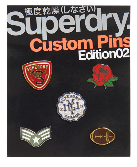 Superdry Pack de cinco chapas