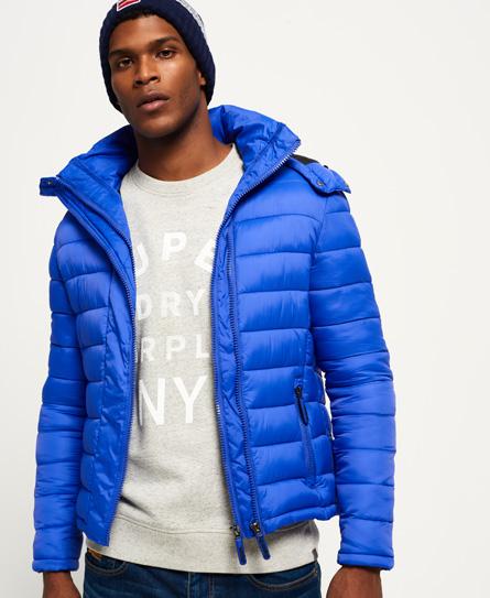 Superdry Superdry Fuji jakke med dobbelt lynlås og hætte
