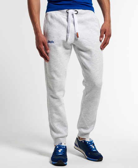 Superdry Slim Fit Jogginghose  Hellgrau