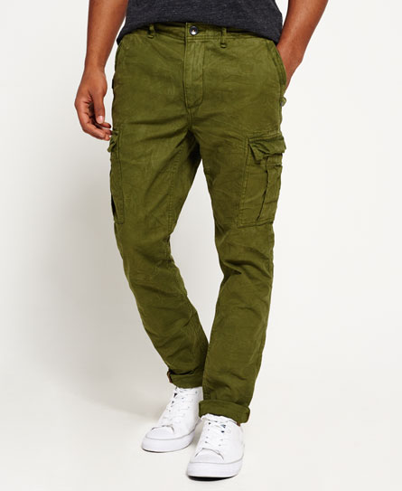 nordic green Superdry Surplus Goods Low Rise Cargo Trousers