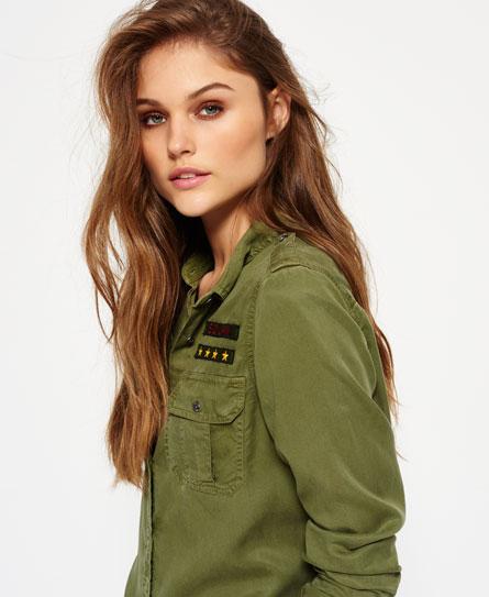 military khaki Superdry Military Shirt