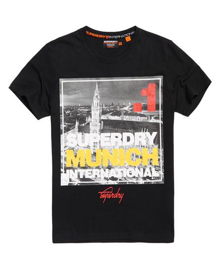 Superdry Box Photo City Munich T-Shirt