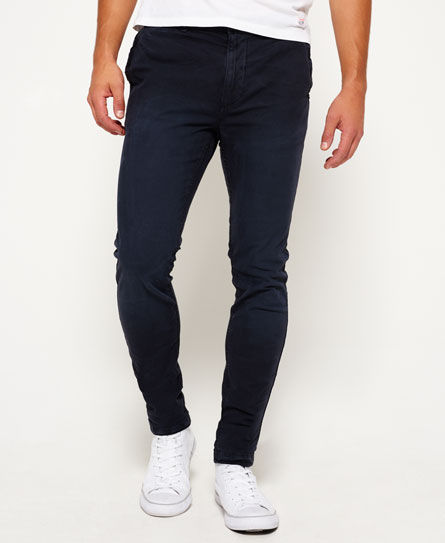 Superdry Pantaloni a vita bassa in cotone Surplus Goods Nero