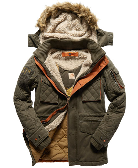 Homme Microfibre Marine Parka Superdry superdry Sd 3 aqnpzwC