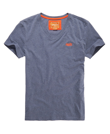 Superdry embroidery vee t shirt men s shirts
