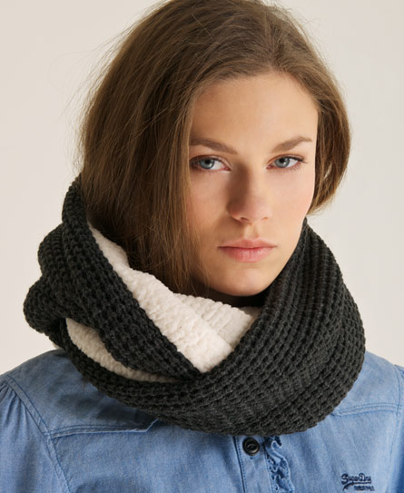 Superdry Herder's Snood Grey