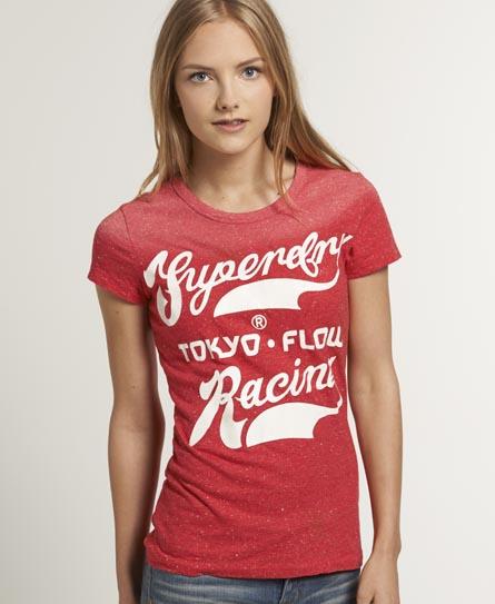 Superdry Tokyo Flow T-shirt Red