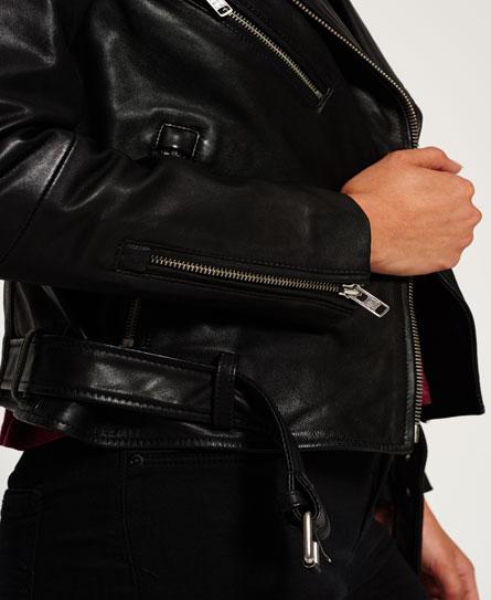 Superdry Luxe Leather Biker Jacket