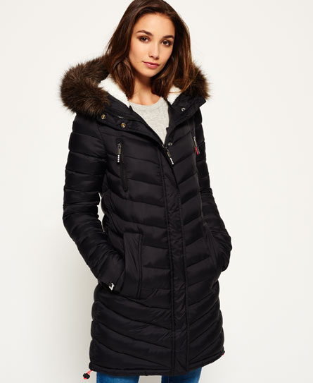 Superdry Superdry Chevron Fur Super Fuji jakke