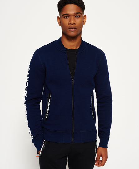 Gym Tech Bomber Jacket