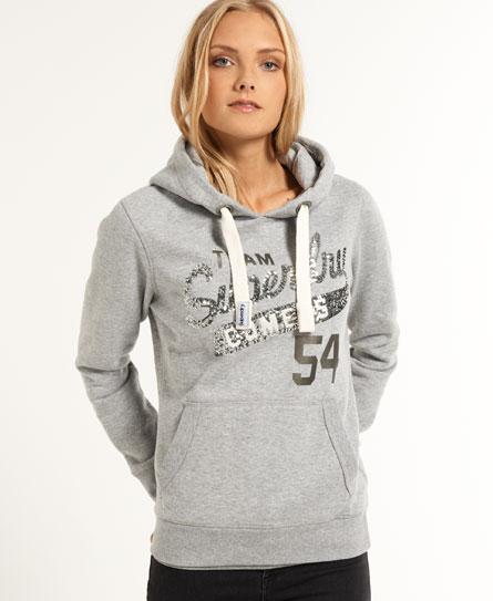 superdry sequin comets hoodie women 39 s hoodies. Black Bedroom Furniture Sets. Home Design Ideas