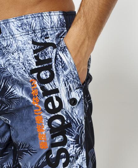 Superdry Bañador con estampado fotográfico Premium Neo
