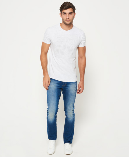 Superdry NY Sport Embossed T-Shirt