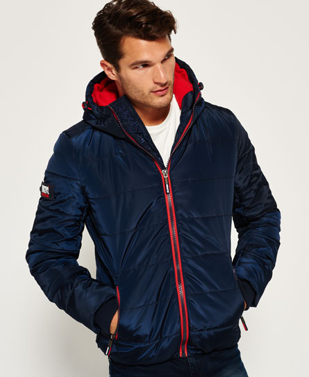 navy/red Superdry Sports donsjack