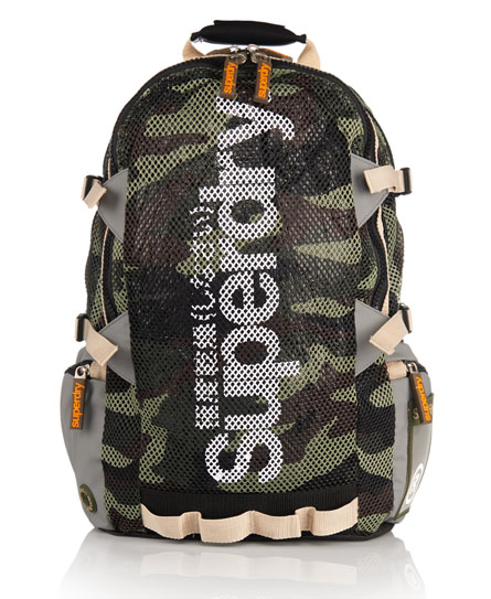 Superdry Mesh Tarp Backpack Green