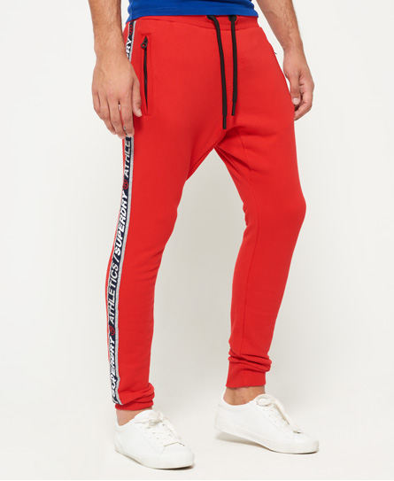 superdry stadium upstate red Superdry Stadium Joggers