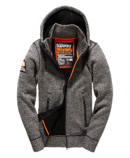 superdry expedition hoodie met rits hoodies voor heren. Black Bedroom Furniture Sets. Home Design Ideas