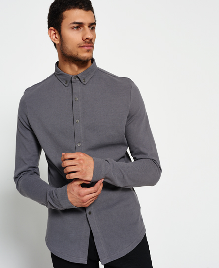 Superdry Casual Pique Button Down Shirt