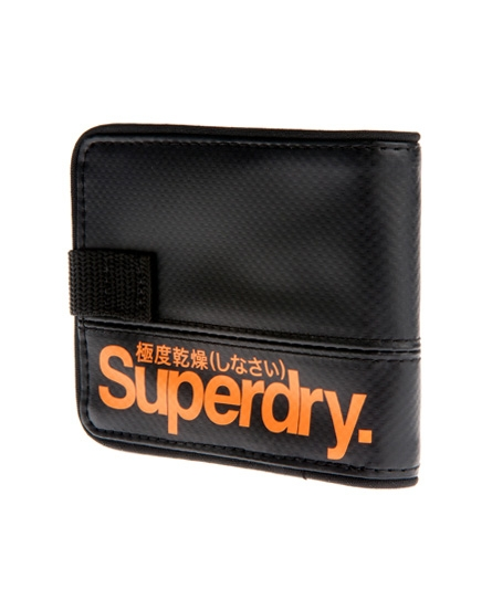 Superdry Tarpaulin Wallet Black