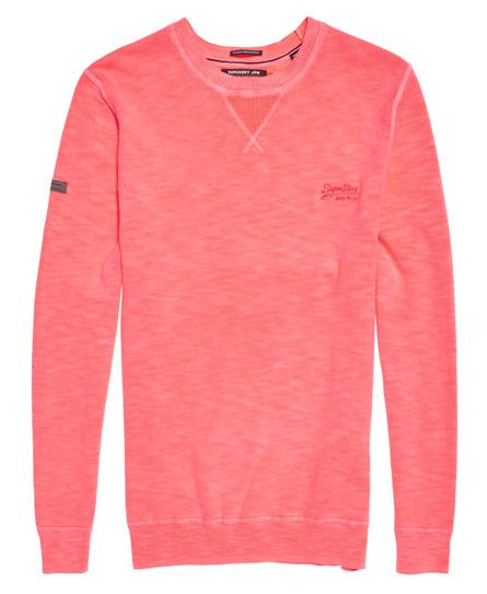 Superdry Garment Dyed L.A Crew Jumper