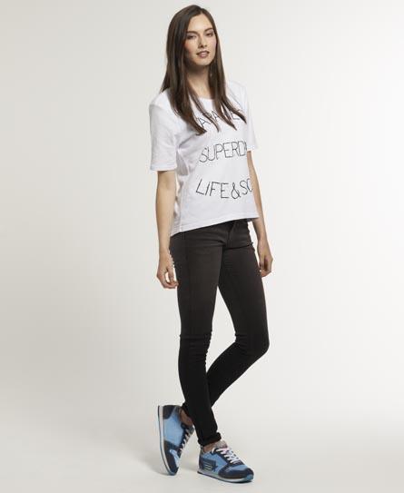 Superdry Standard Skinny Jeans Black
