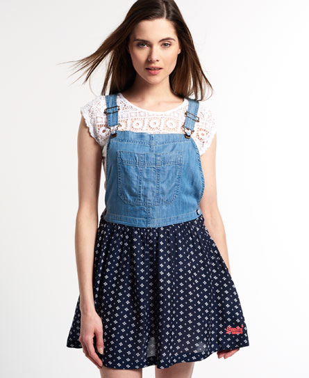 Model NEW JAG WOMENS Denim Snap Dress Dresses | EBay