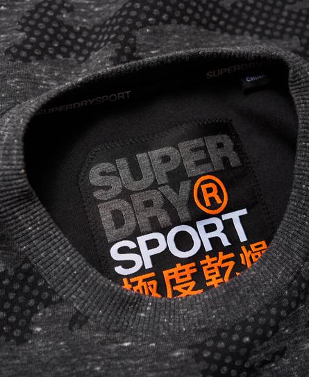 Superdry Gym Tech Rundhals-Sweatshirt