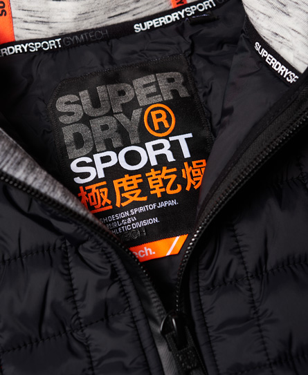 Superdry Gym Tech Hybrid Jacket