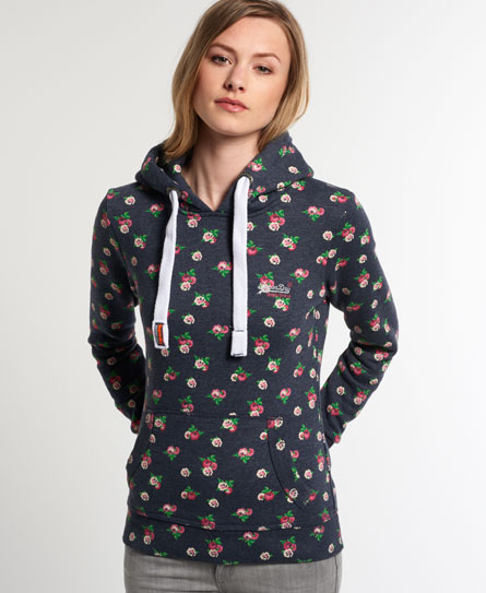 Superdry Ditsy Floral Hoodie - Women's Hoodies