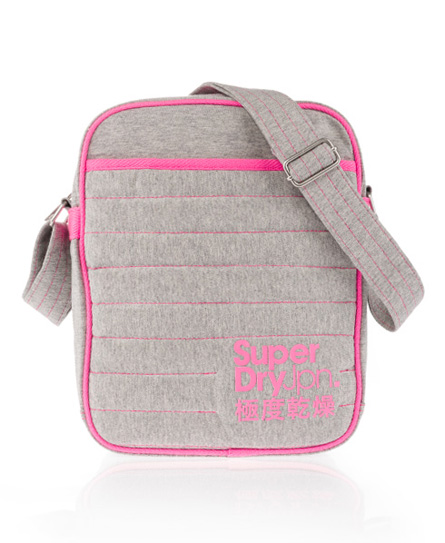 Superdry Cheater Side Bag Grey