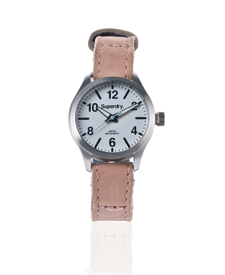 Superdry Eton Watch Pink