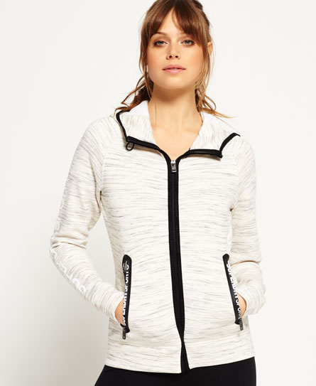 neon nep Superdry Gym Tech Zip Hoodie