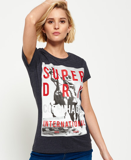 Kopenhagen T-Shirt mit großem Fotoprint