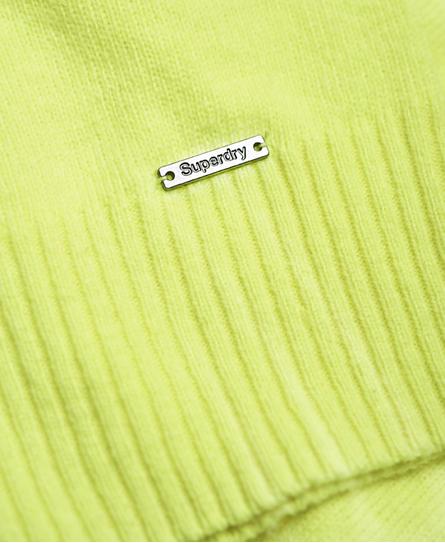 Superdry Downtown Raglan Knitted Jumper