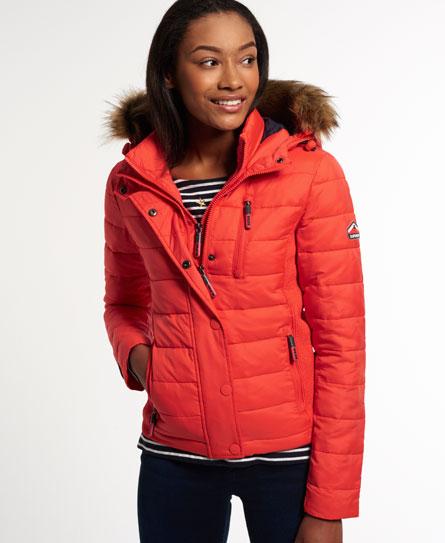 Superdry Fuji Slim Double Zip Hood Jacke Damen Jacken