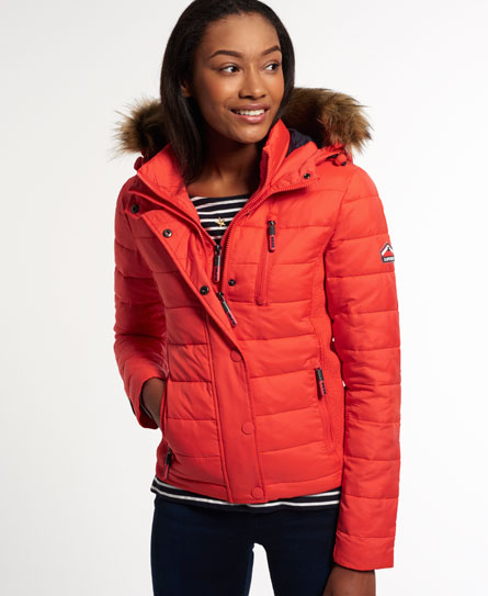 Superdry Fuji Slim Double Zip Hood Jacket