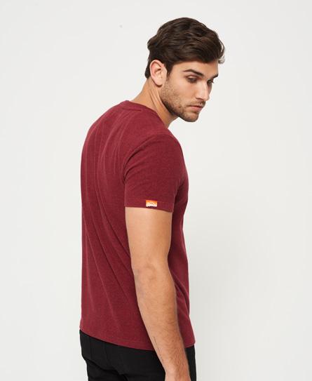 Superdry Orange Label Vintage Embroidery Vee Neck T-Shirt