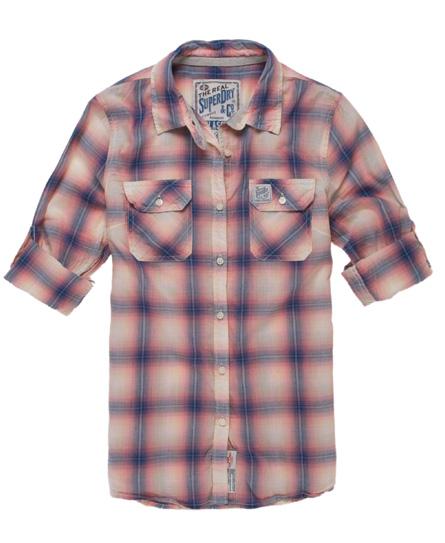 Superdry Sheer Hombre Shirt Orange