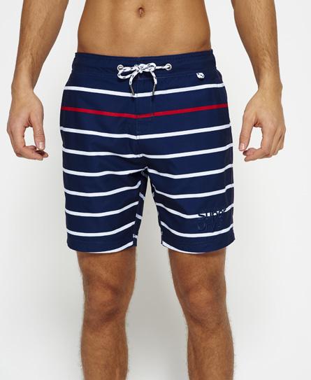 Superdry Vacation Stripe Swim Shorts