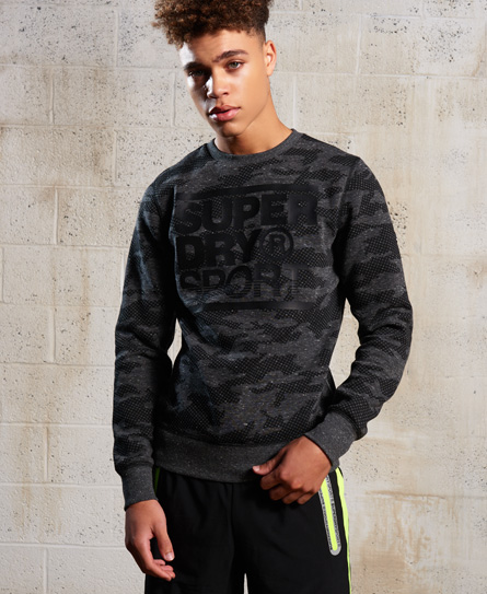 Superdry Gym Tech Rundhals-Sweatshirt