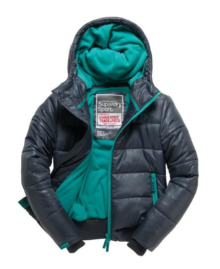Superdry womens sport polar puffer jacket